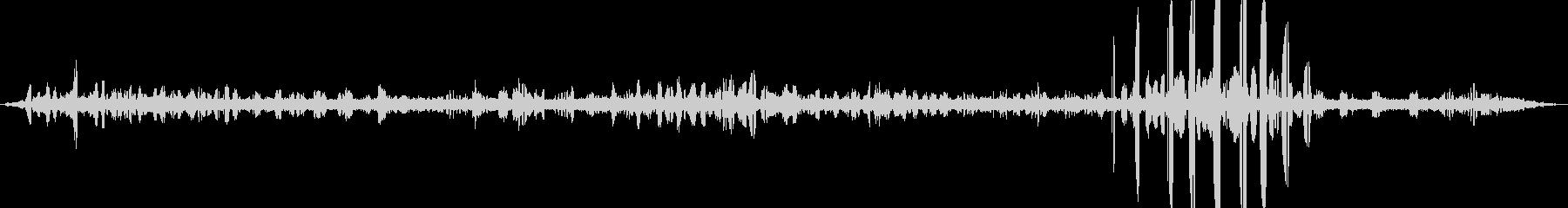 【自然音】朝の棚田01(栃又)の未再生の波形