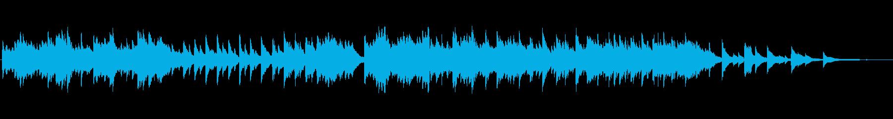 悲しいピアノソロ曲ですの再生済みの波形