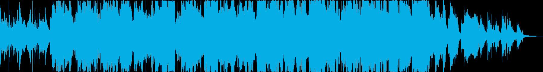 100年以上前の伝説のケルト曲の再生済みの波形