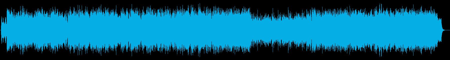 ゆったりと響く、幻想的なバラードの再生済みの波形