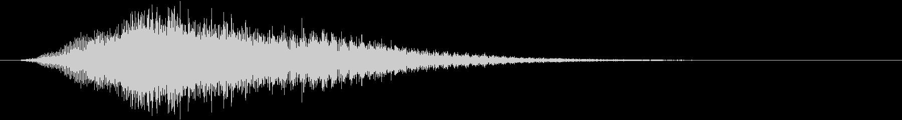 音楽:不気味な下降ホーンスティンガ...の未再生の波形