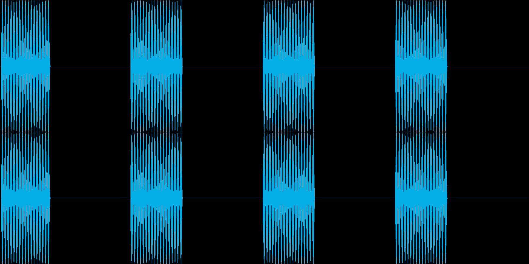 プルルルル…(電話の呼び出し音)の再生済みの波形