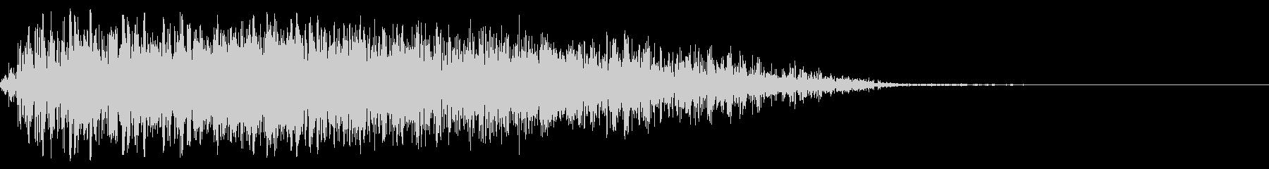 ソフトノイズウーシュの未再生の波形