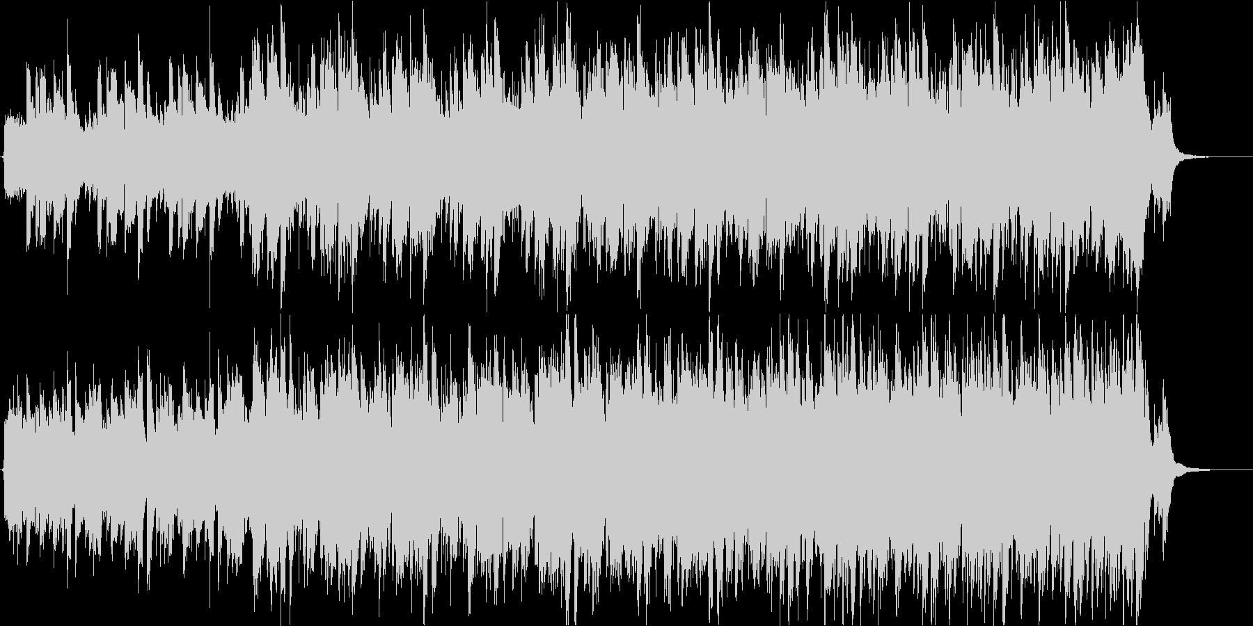 インパクト絶大ギター生演奏-緊迫シリアスの未再生の波形