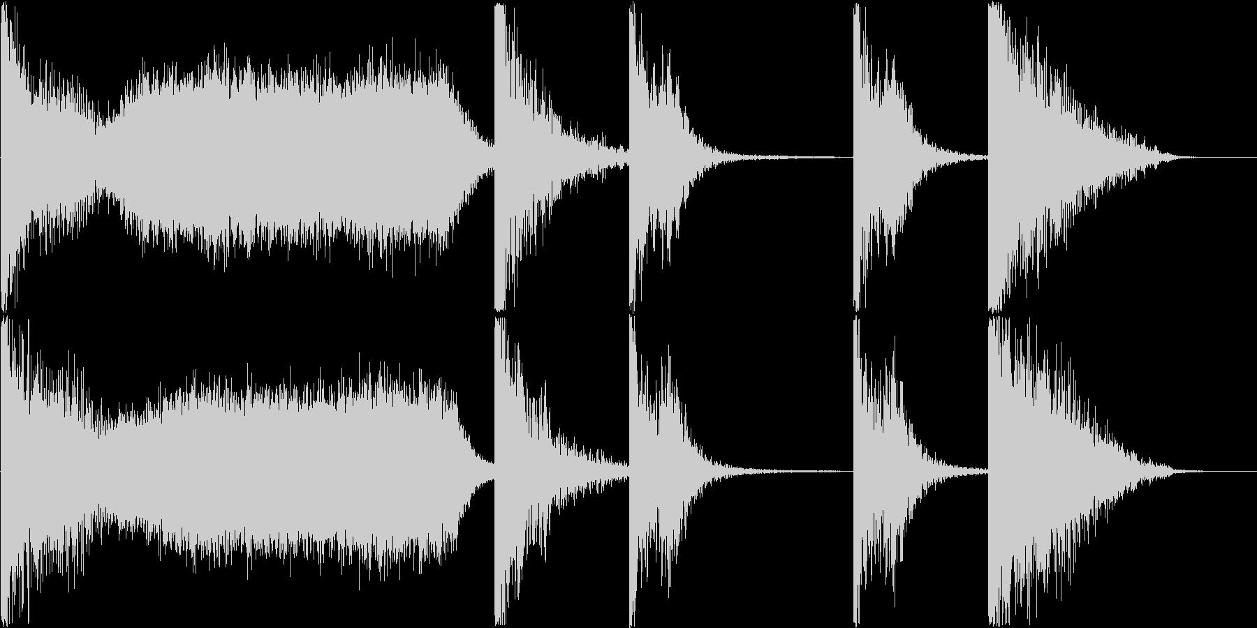 シンプルなトレーラー / 28秒の未再生の波形