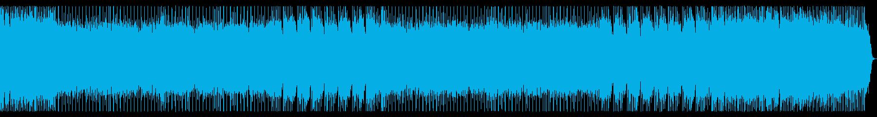 ポップで軽快なメタルBGM 宇宙空間の再生済みの波形