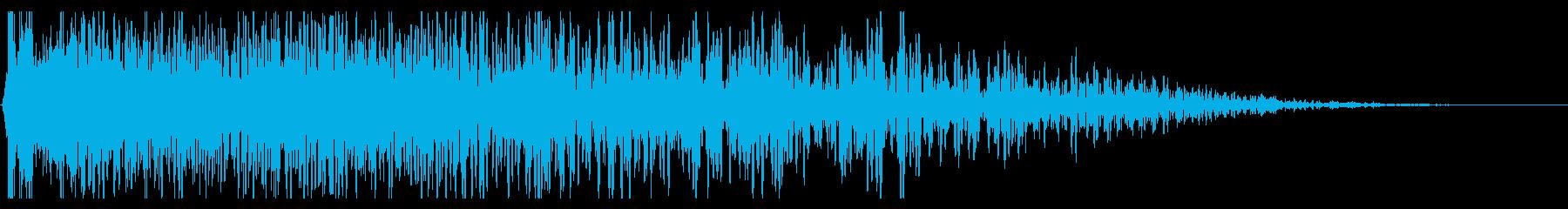 ディストーショントレイルによるシン...の再生済みの波形