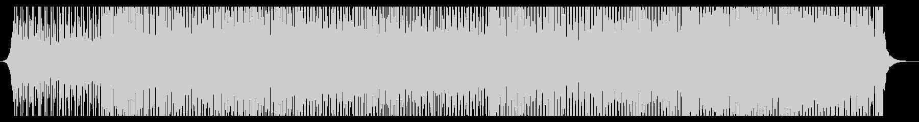 トロピカルビーチの未再生の波形