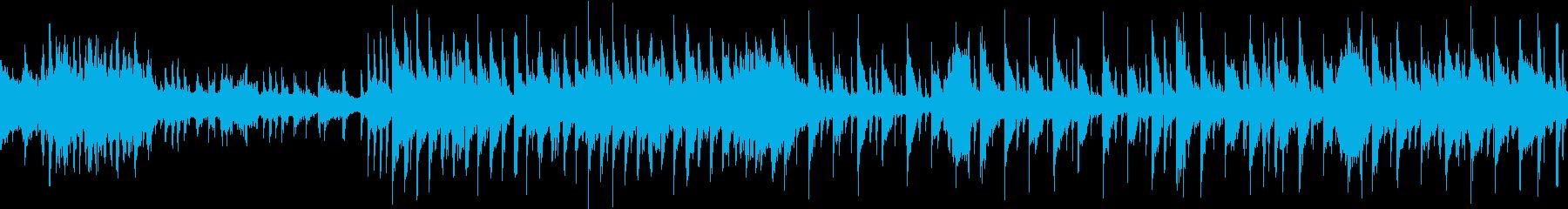 東洋楽器等を使った明るい曲。ループも可の再生済みの波形