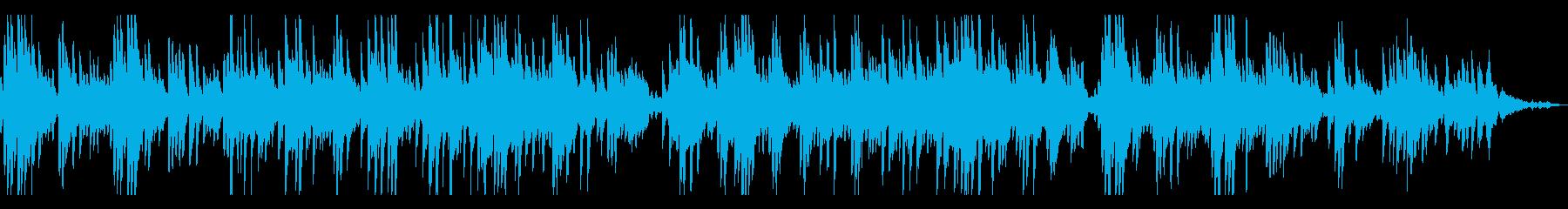 アナログで優しい思い出 ピアノソロの再生済みの波形