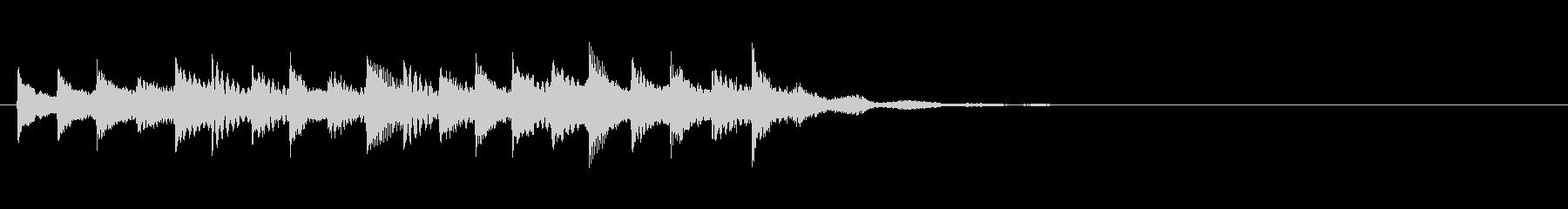 トロピカル風場面転換音orサウンドロゴ の未再生の波形