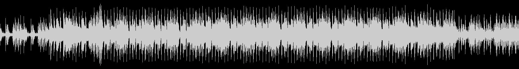 ハウスビートとピアノの緊張感のあるループの未再生の波形