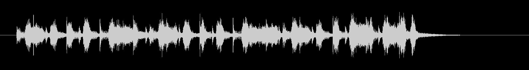 大人なミディアムテンポのジャズのジングルの未再生の波形