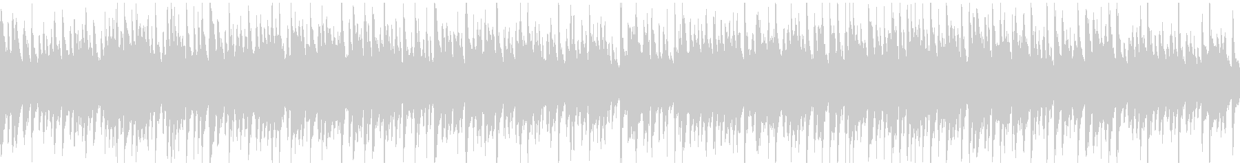 ハワイの海の雰囲気 ウクレレ ※ループ版の未再生の波形