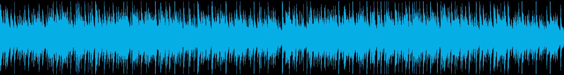 ハワイの海の雰囲気 ウクレレ ※ループ版の再生済みの波形