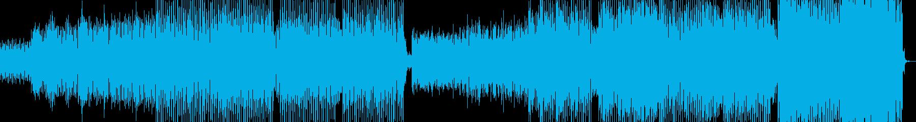 沖縄下千鳥音階によるホラーハードテクノの再生済みの波形