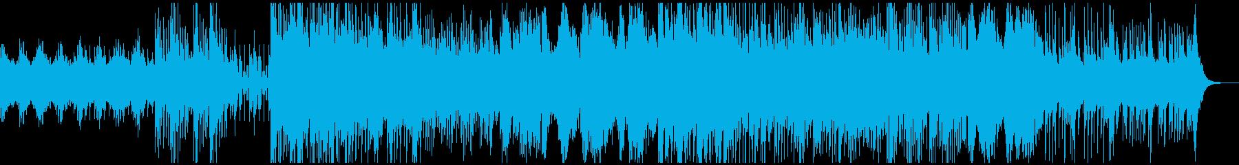 ピアノメイン、落ち着いたエレクトロニカの再生済みの波形