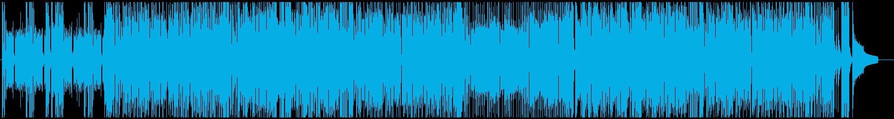 ギャグ落ち・ドッキリ大成功のBGMの再生済みの波形