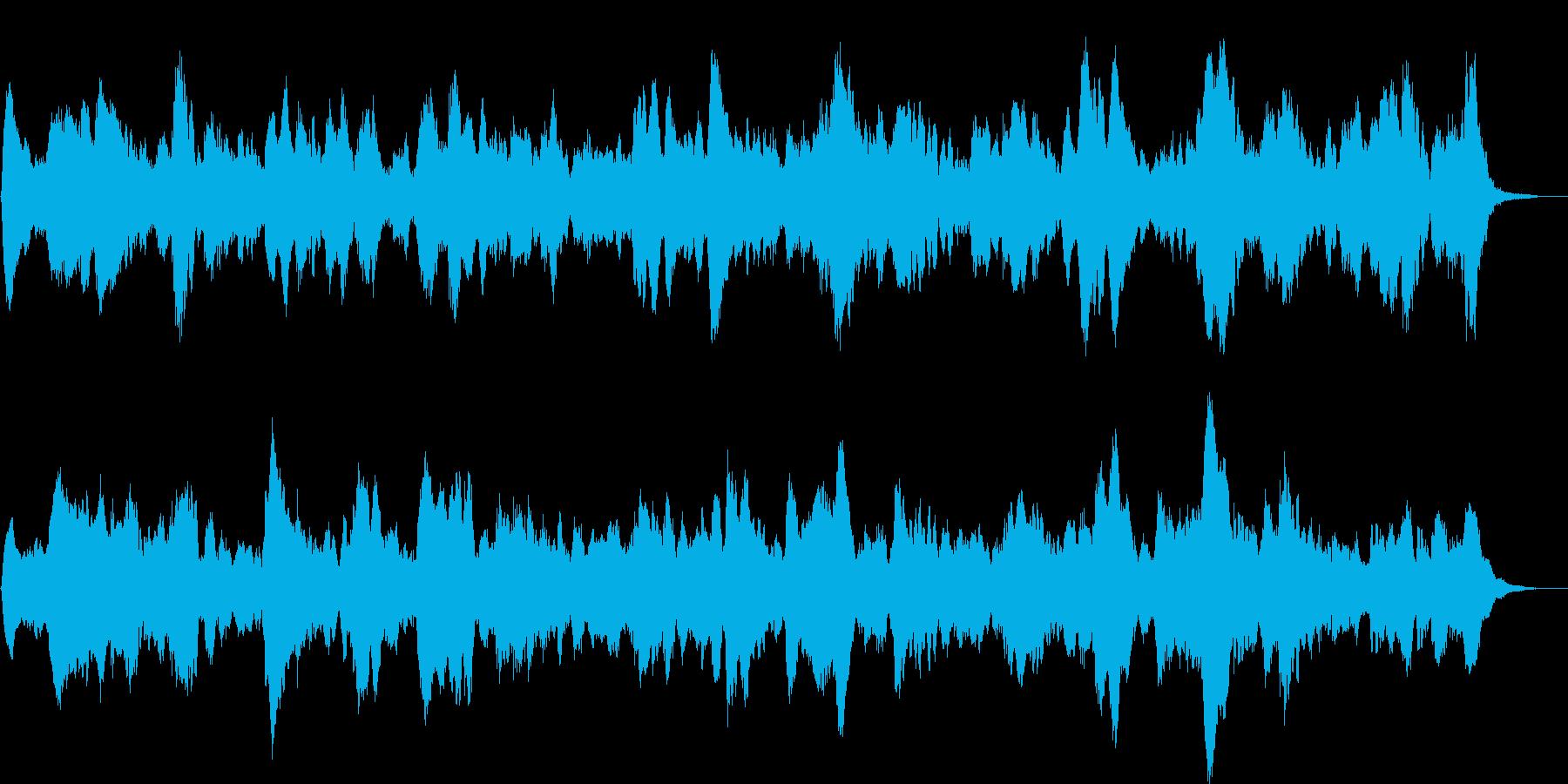 ホラー系(ループ音源)ですの再生済みの波形