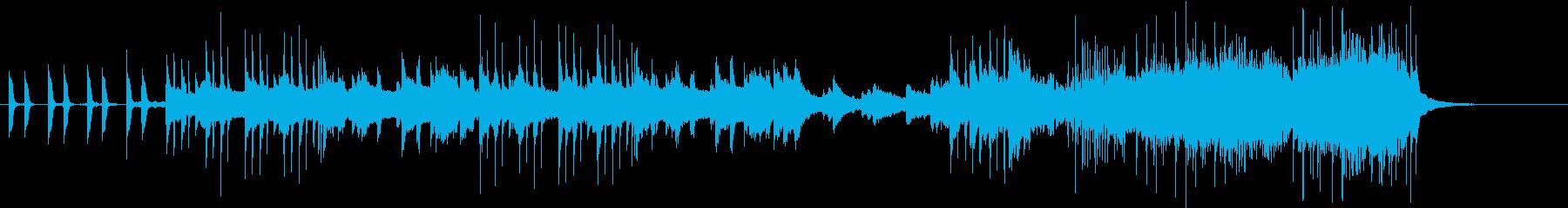 ロックの再生済みの波形