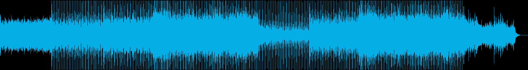 EDMクラブ系ダンスミュージック-28の再生済みの波形
