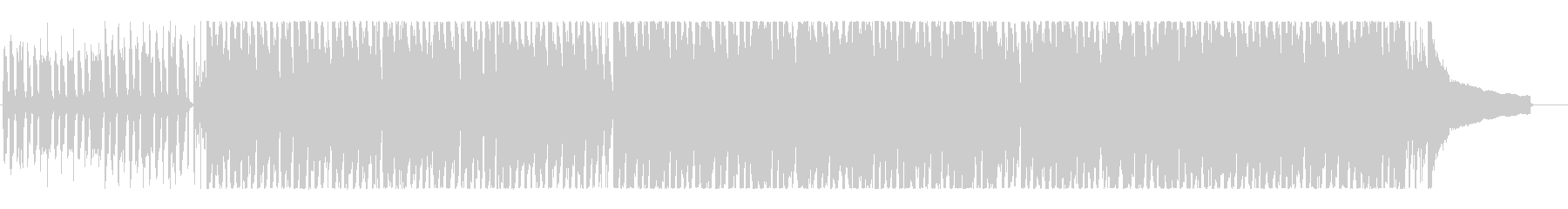 ハッピー、ポジティブ!明るいポップロックの未再生の波形