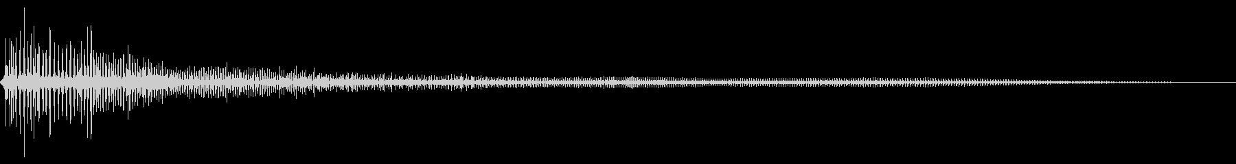 大きなおならげっぷ、げっぷ、オナラ...の未再生の波形