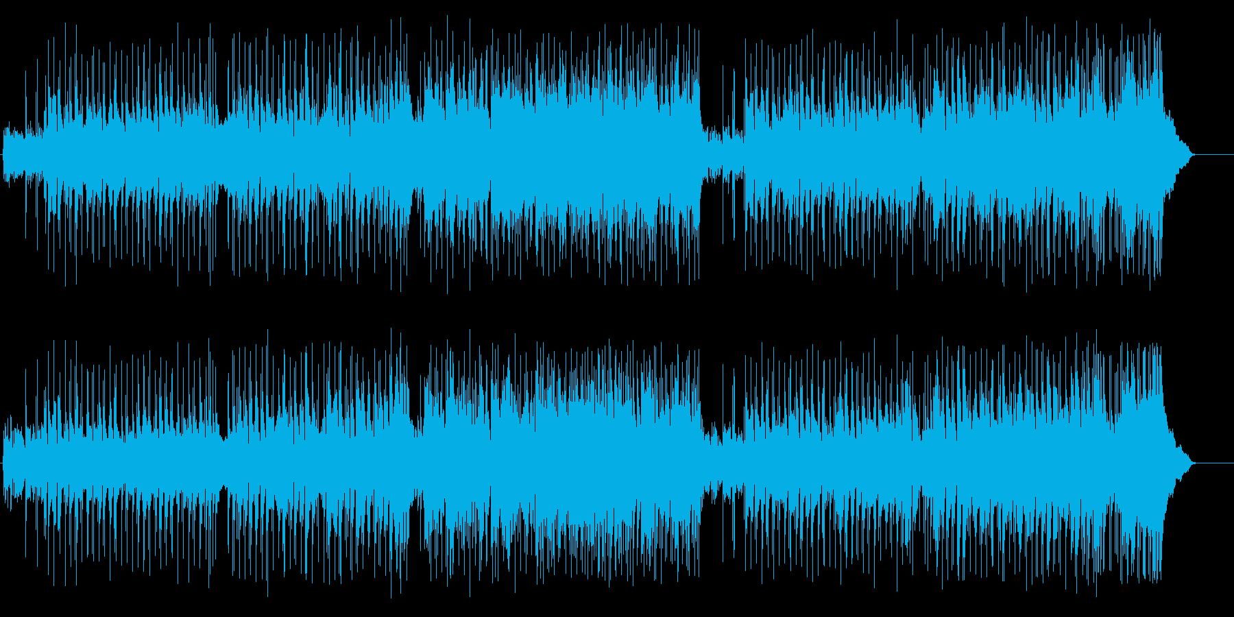 幸福な女性のための序曲の再生済みの波形