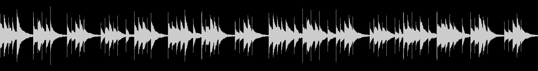 切ないシーンに/オルゴール/ループの未再生の波形