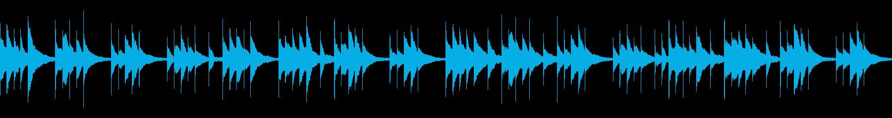 切ないシーンに/オルゴール/ループの再生済みの波形