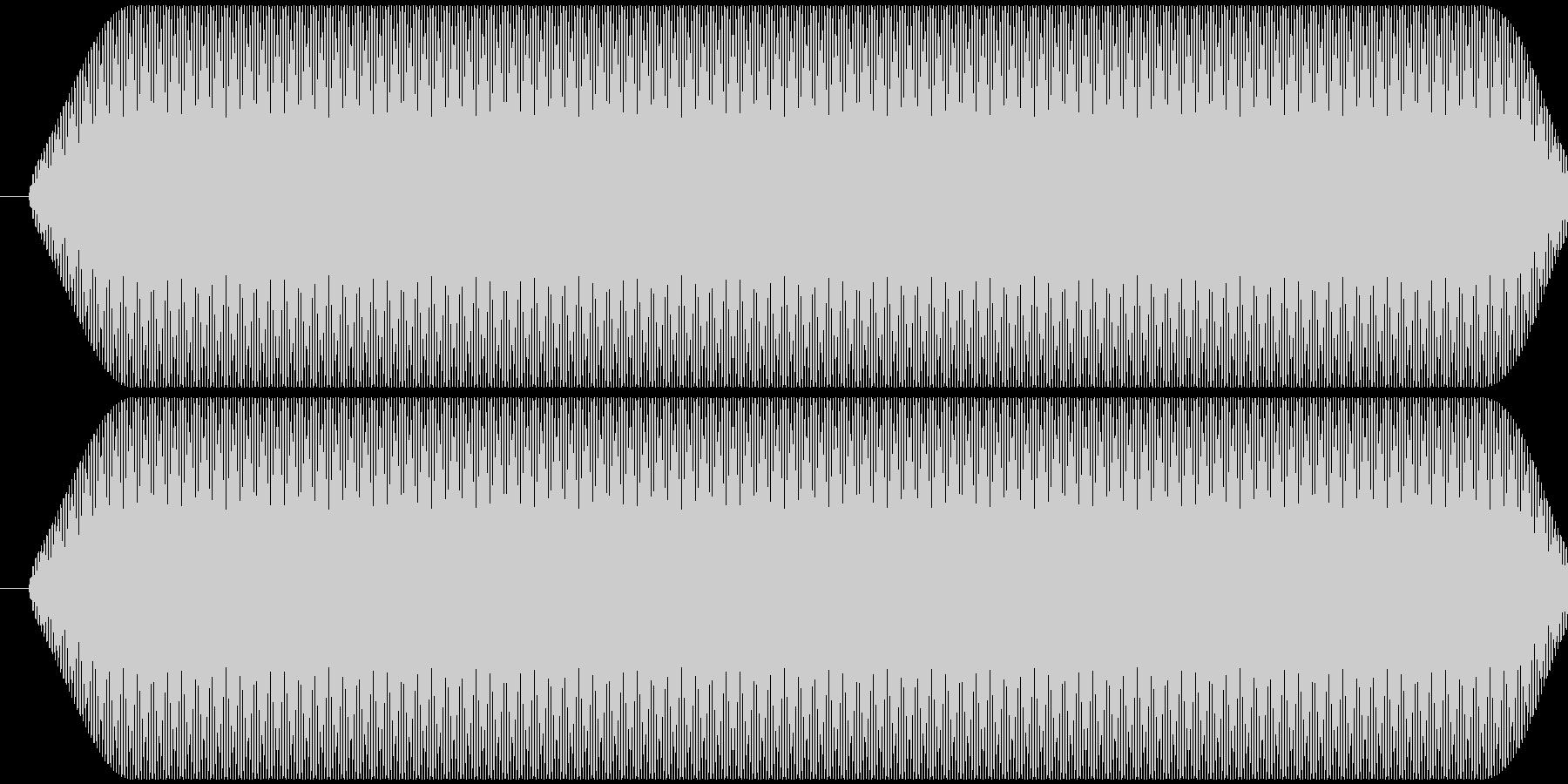 ピー音 自主規制音 (約0.3秒)の未再生の波形