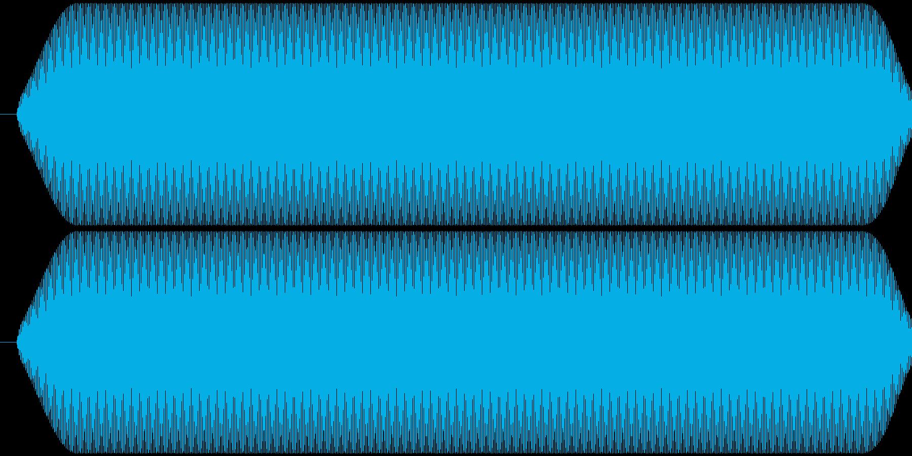 ピー音 自主規制音 (約0.3秒)の再生済みの波形