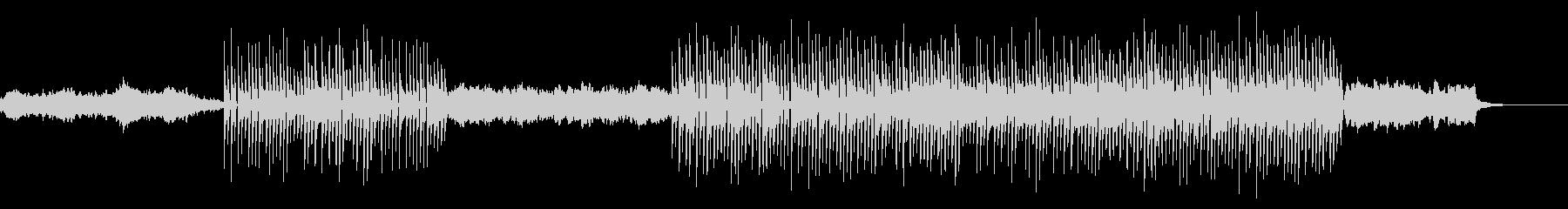 シンセのデモみたいな音楽の未再生の波形