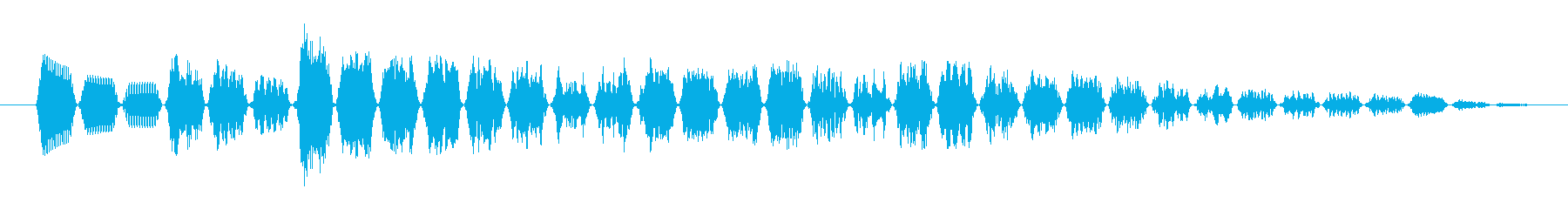 KANT近未来アラームサウンド242の再生済みの波形
