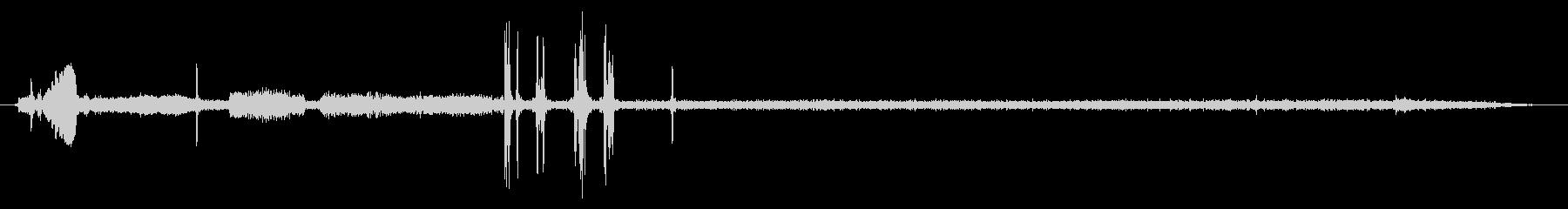 光学ドライブ01-4(動作音)の未再生の波形