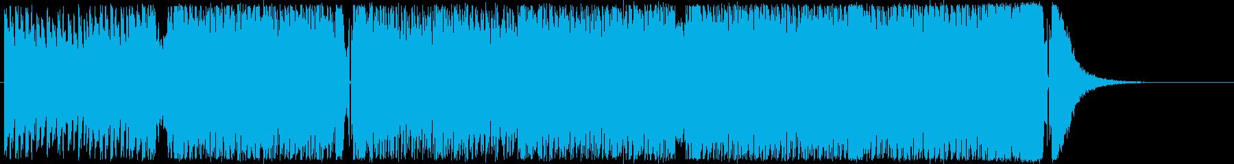テクノ・トランス。映像・ゲーム等に。の再生済みの波形