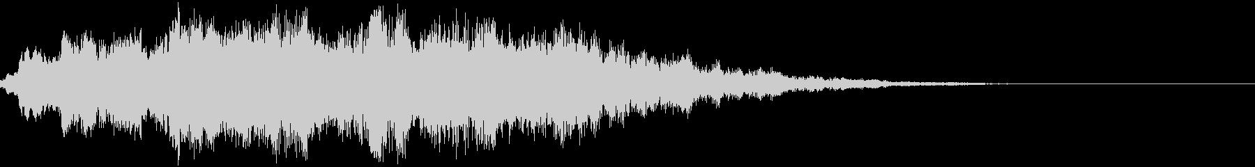 キラン:ミステリアス・不思議な衝撃音bの未再生の波形
