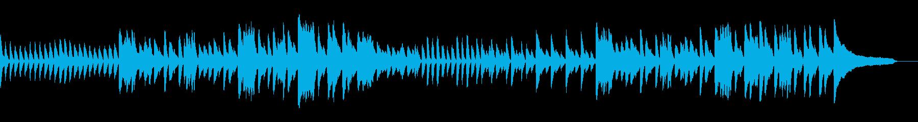 スタイリッシュであたたかい空間なピアノ曲の再生済みの波形