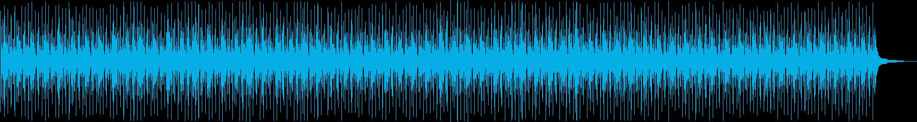 南国の夕日のイメージ曲ストリングス無しの再生済みの波形