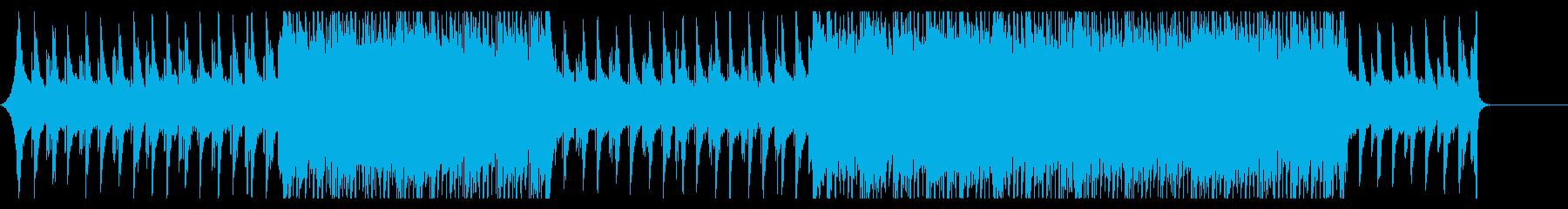 爽やかなコーポレートムービー向けBGMの再生済みの波形