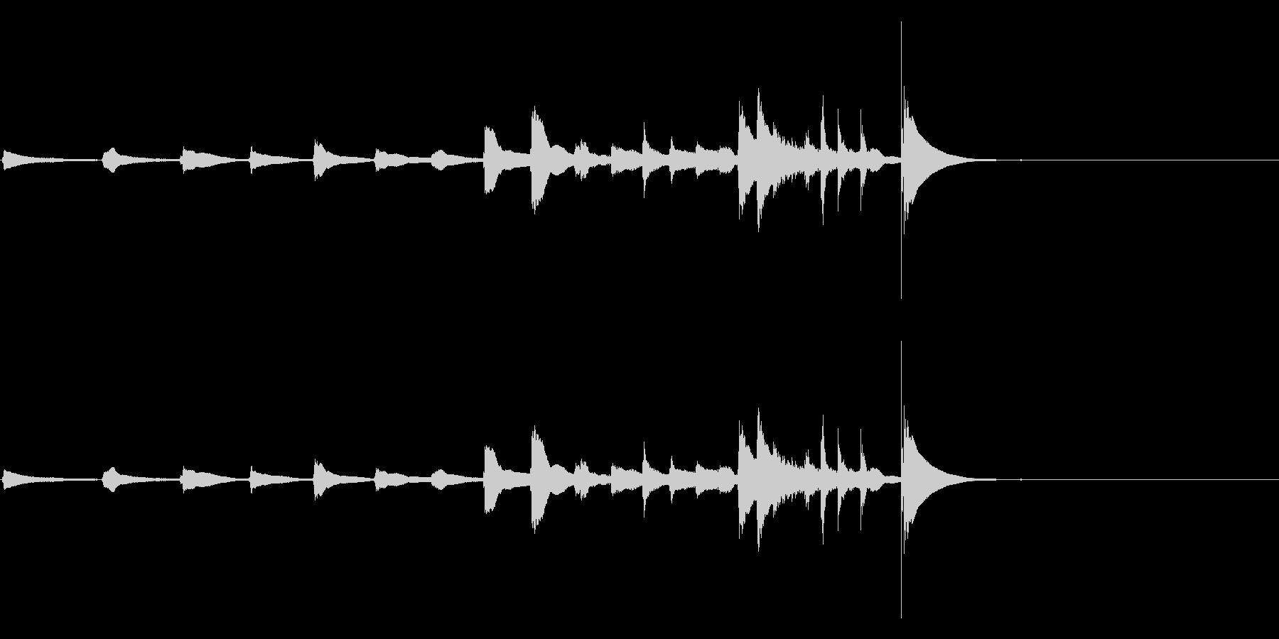 生演奏 琵琶 武士 和風 古典風#16の未再生の波形