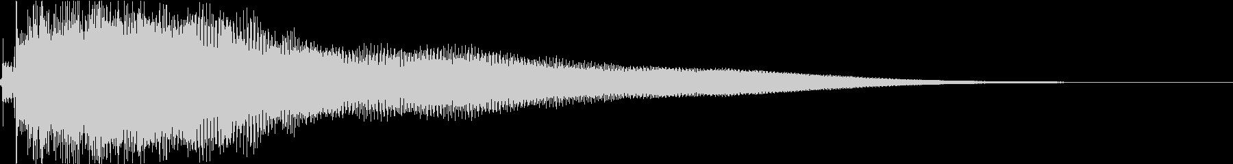ジャラーン:アコースティックギターcの未再生の波形
