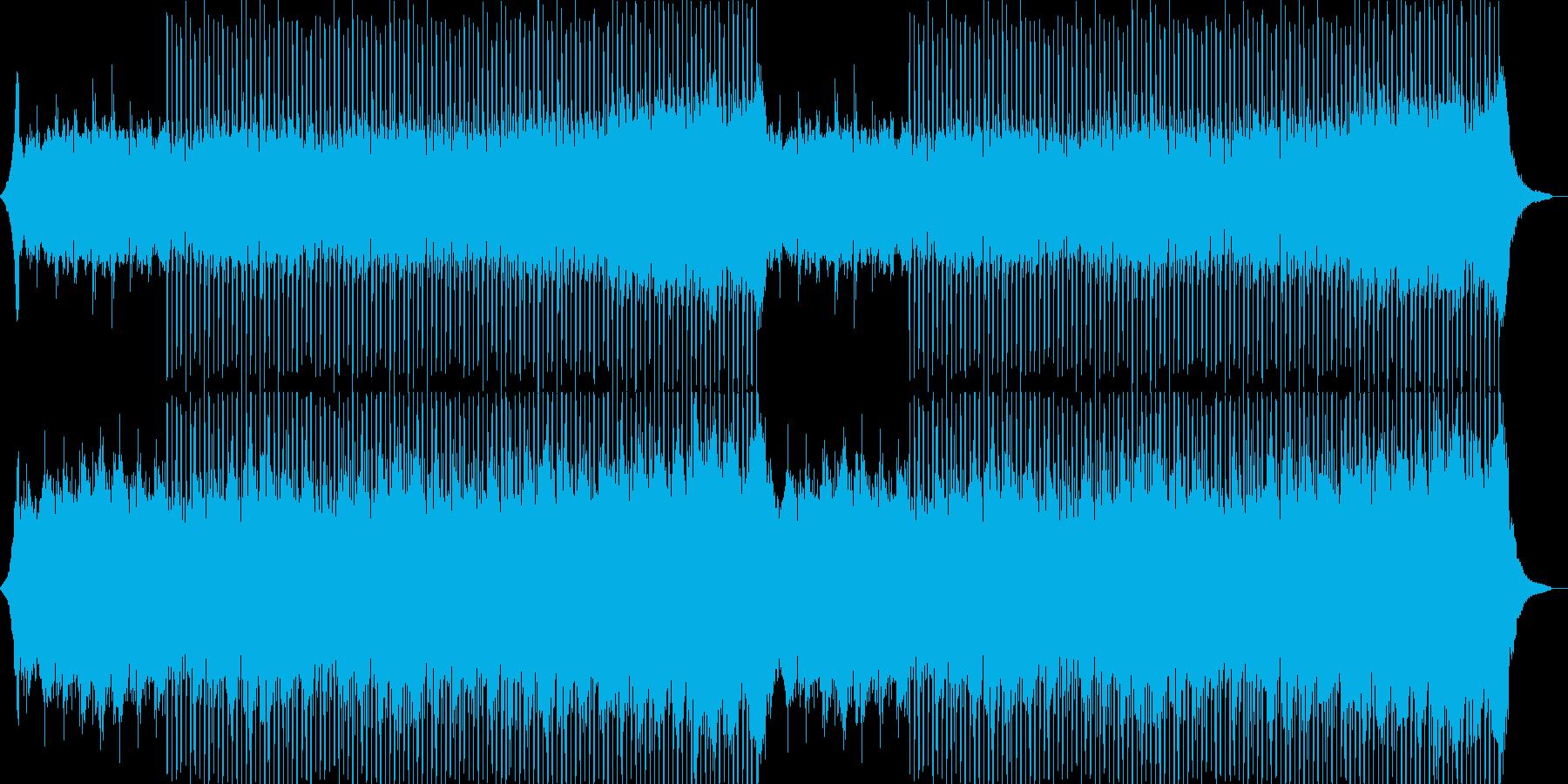企業VP系31、爽やかギター4つ打ち9aの再生済みの波形