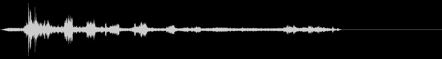 アヒル2の未再生の波形