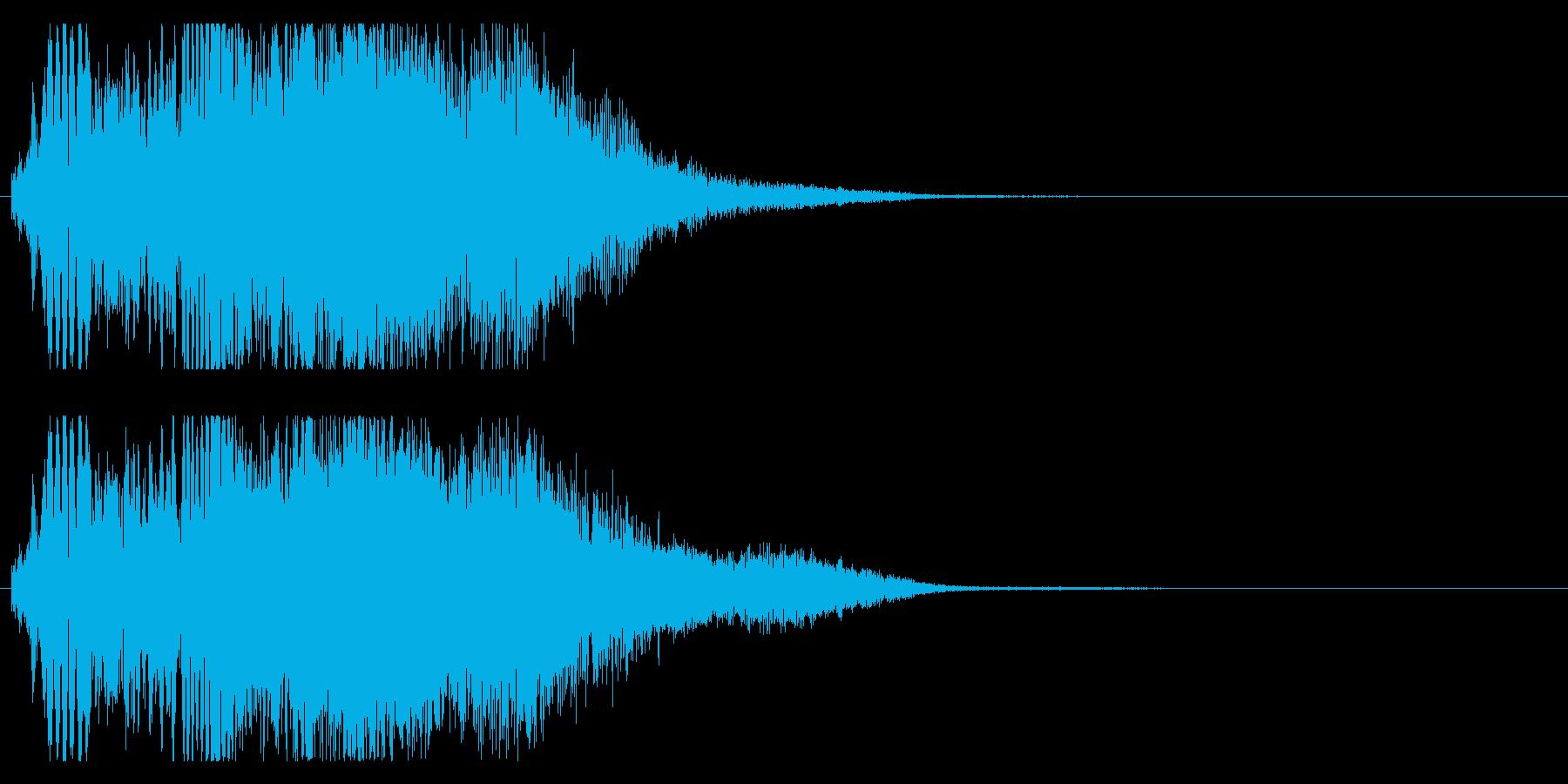 ロボット 未来系 サーベル 攻撃Hの再生済みの波形