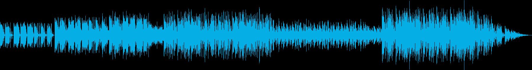 少し風変わりでロボット的な催眠エレ...の再生済みの波形