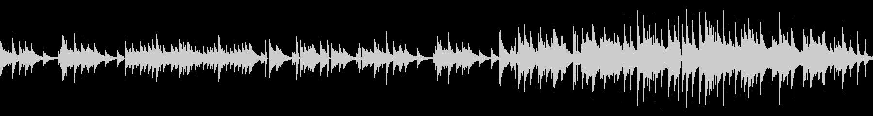 ピアノソロバラードBGM(ループ仕様)の未再生の波形