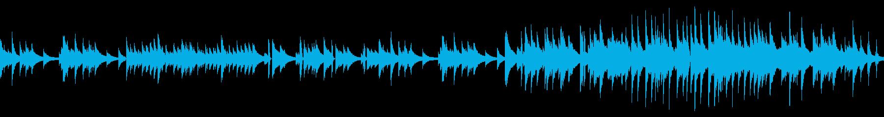 ピアノソロバラードBGM(ループ仕様)の再生済みの波形