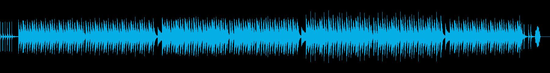 脱力感のある虚無な日常劇伴BGMの再生済みの波形