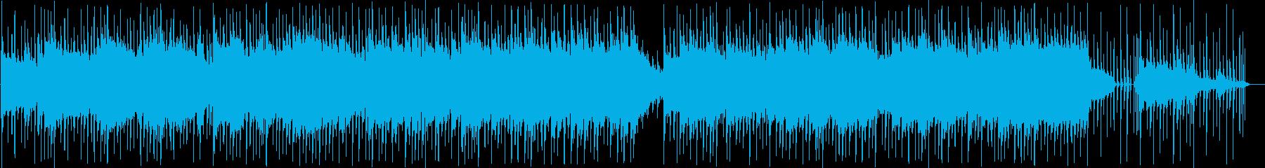 ピアノの喜怒哀楽を表現の再生済みの波形